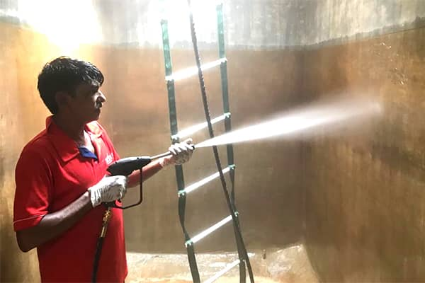 Scientific Buildings Water Tank Cleaning Service
